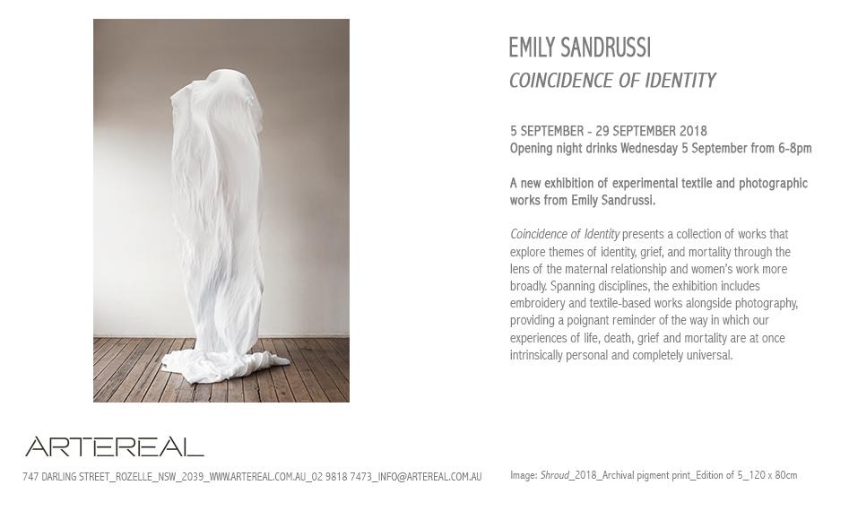 Emily Sandrussi Invite 2018